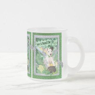Jack Russell Puppy St Pattys Day Customize It Mug