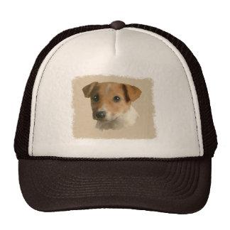 Jack Russell Puppy Trucker Hat