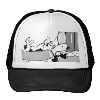 Jack Russell Sleeping Trucker Hat