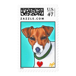 Jack Russell stamp