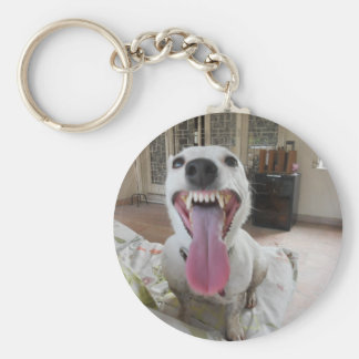 Jack Russell Terier Basic Round Button Keychain
