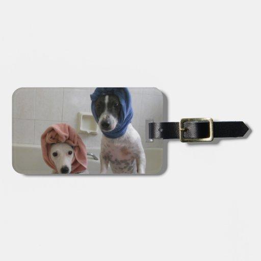 Jack Russell Terrier トラベルバッグタグ