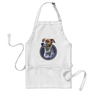 Jack Russell Terrier 001 Adult Apron