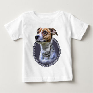 Jack Russell Terrier 001 Baby T-Shirt
