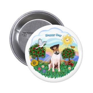 Jack Russell Terrier 1 (1) Pinback Button