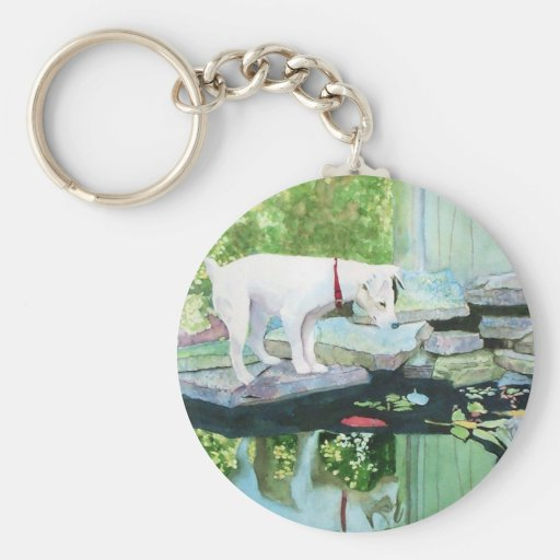Jack Russell Terrier #1 Keychain