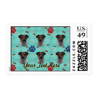 Jack Russell Terrier Art Postage
