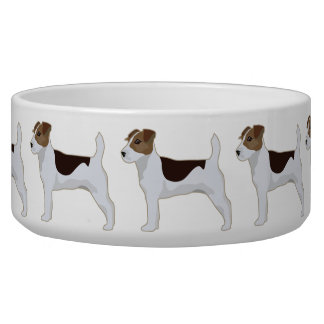 Jack Russell Terrier Basic Breed Illustration Bowl