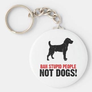 Jack Russell Terrier Basic Round Button Keychain