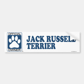 Jack Russell Terrier Blue Bumper Stickers