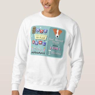 Jack Russell Terrier Bowling Tiki Night Sweatshirt