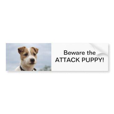 fourleggedfriends Jack Russell Terrier Bumper Sticker