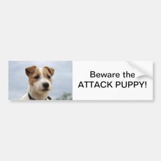 Jack Russell Terrier Bumper Sticker Car Bumper Sticker