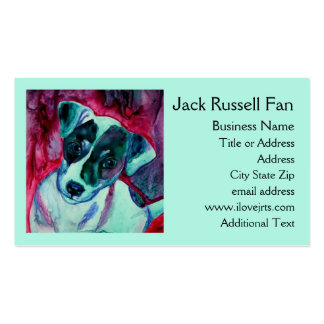 "Jack Russell Terrier Business Card - ""Julep"""