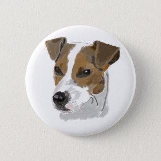 Jack Russell Terrier Button