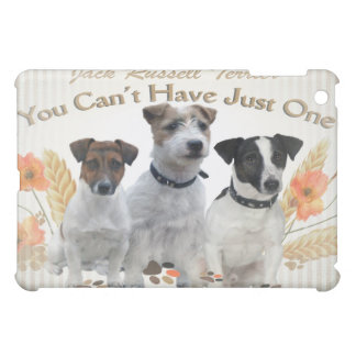 Jack Russell Terrier Can't Have Just One IPAD CASE