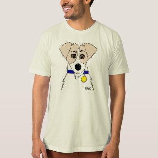 Jack Russell Terrier cartoon t-shirt, cool! T-Shirt