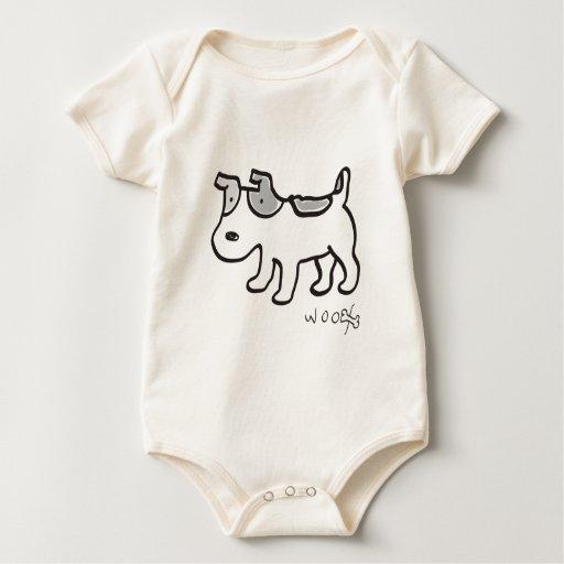 Jack Russell Terrier Chiro Baby Bodysuit