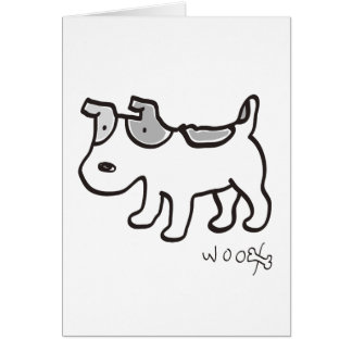 Jack Russell Terrier Chiro Greeting Card
