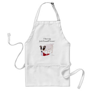 Jack Russell Terrier Christmas Adult Apron