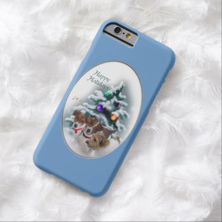 Jack Russell Terrier Christmas Barely There iPhone 6 Case