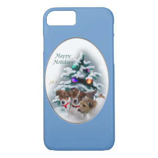 Jack Russell Terrier Christmas iPhone 7 Case