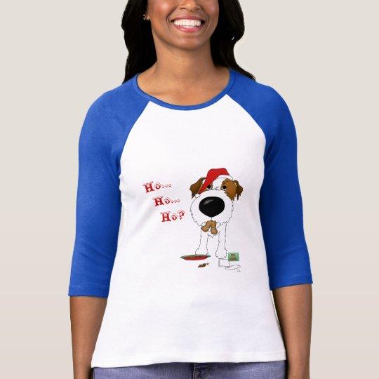 Jack Russell Terrier Christmas T-Shirt