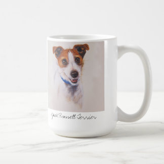 Jack Russell Terrier Classic White Coffee Mug