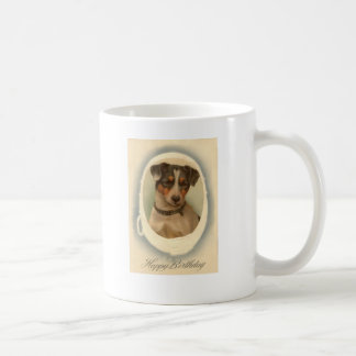 Jack Russell Terrier Collar Birthday Coffee Mug