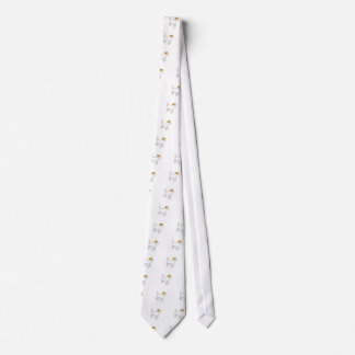 jack russell terrier color silhouette tie