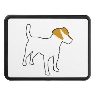 jack russell terrier color silo.png trailer hitch cover