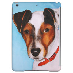 Case Savvy Glossy Finish iPad Air Case with Jack Russell Terrier Phone Cases design