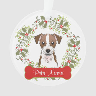 Jack Russell Terrier Customizable Ornament