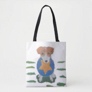 Jack Russell Terrier, Cute Tote Bag