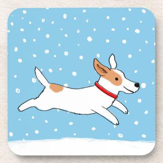 Jack Russell Terrier - día de fiesta feliz del Posavaso