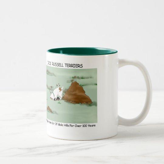 Jack Russell Terrier Digging Mug
