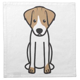 Jack Russell Terrier Dog Cartoon Napkin