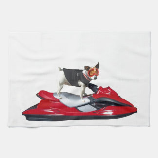 Jack Russell Terrier dog Hand Towel