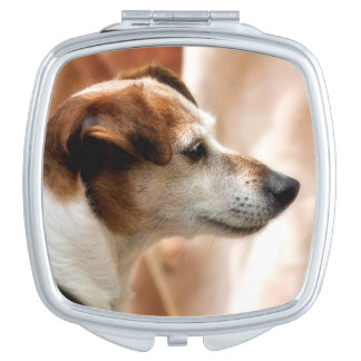 JACK RUSSELL TERRIER DOG MIRROR FOR MAKEUP