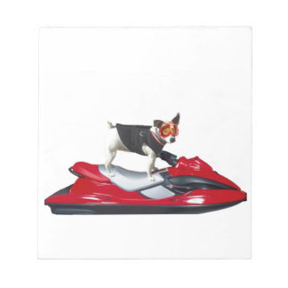 Jack Russell Terrier dog Notepad