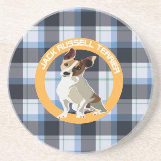 Jack Russell Terrier Drink Coaster