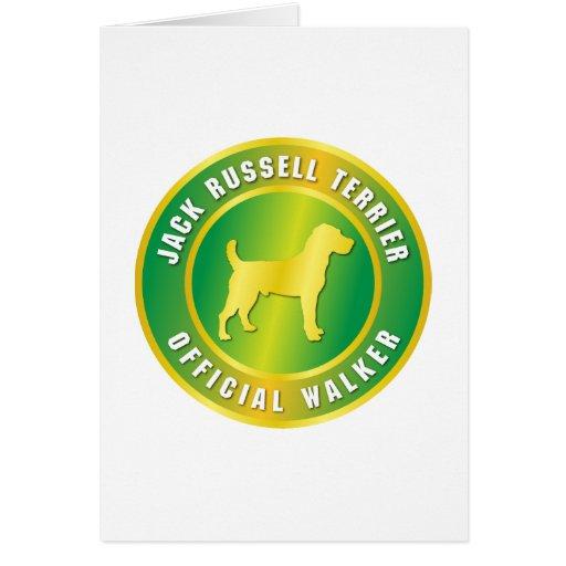 Jack Russell Terrier Felicitaciones