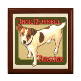 Jack Russell Terrier Gift Box