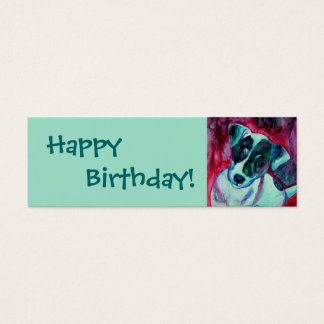 """Jack Russell Terrier - Gift Tag - """"Julep"""""""