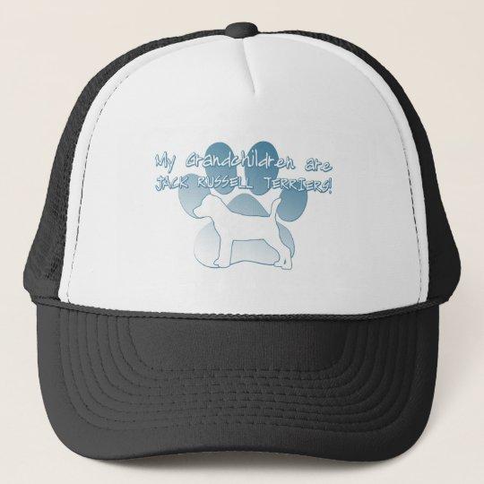 Jack Russell Terrier Grandchildren Trucker Hat