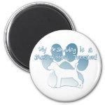 Jack Russell Terrier Granddog Magnet