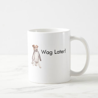 Jack Russell Terrier Growl First Wag Later Mug