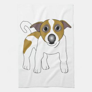 Jack Russell Terrier Hand Towel
