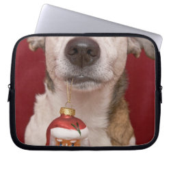 Neoprene Laptop Sleeve 10 inch with Jack Russell Terrier Phone Cases design