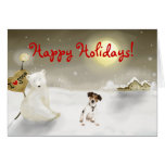 Jack Russell Terrier Holiday Card